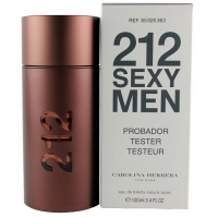 "Carolina Herrera ""212 Sexy Men"" 100 ml men tester"