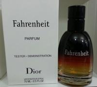 """Christian Dior """"Fahrenheit Le Parfum"""" 75 ml men tester"""